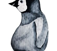 Wooly Penguin by Sophie Leigh Artworks