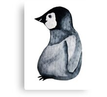 Wooly Penguin Canvas Print