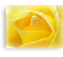 Lemon Petals Canvas Print
