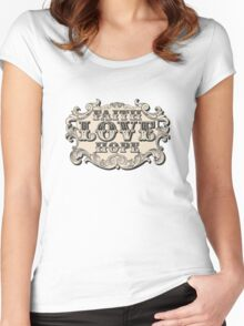 Faith Hope Love Women's Fitted Scoop T-Shirt