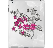Faith. Kanji. iPad Case/Skin
