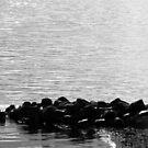 a rock and a hard place by Heike Nagel
