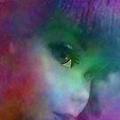 Rainbow Glow On Barbie Doll by Vanessa Barklay