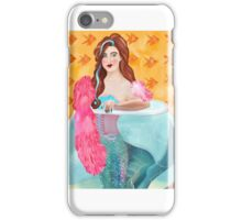 Vaudeville  mermaid  iPhone Case/Skin