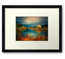 An Autumn Storm Framed Print