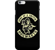 Sons of a snitch - Hogwarts iPhone Case/Skin