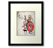 CHEERIO 13 Framed Print