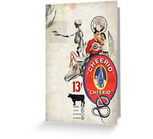CHEERIO 13 Greeting Card