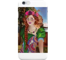 Fairy with glasses iPhone Case/Skin