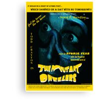 The Mutant Dwellers Movie Poster Canvas Print
