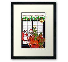 Christmas Elf Framed Print