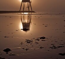 Dovercourt Lighthouse Sunrise by Philip Eaglesfield