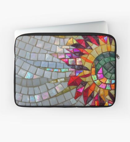 Star Flower,  photography of shiny mosaic - JUSTART © Laptop Sleeve