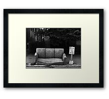 Benefit Street Framed Print