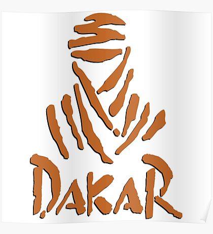 Dakar brown Poster