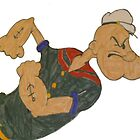 Popeye by Elliott  Egan