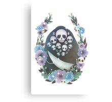 Floral Gravelord Nito Canvas Print