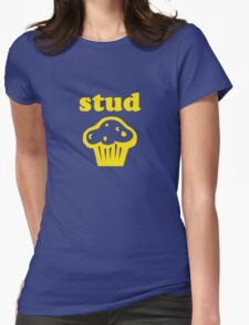 Stud Muffin Womens Fitted T-Shirt