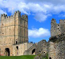 Richmond Castle, the Keep & Robin Hood Tower by hjaynefoster