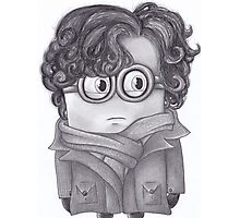 Sherlock Minion Photographic Print