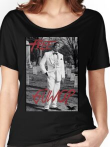 Free Guwop/Gucci/White Suit Women's Relaxed Fit T-Shirt