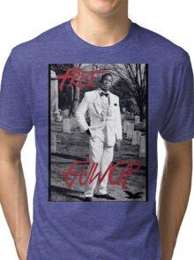 Free Guwop/Gucci/White Suit Tri-blend T-Shirt