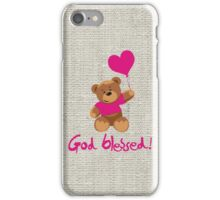 God blessed iPhone Case/Skin