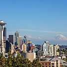 Seattle Skyline by Jonicool