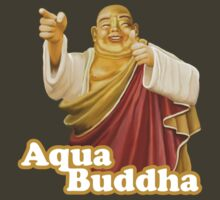 Aqua Buddha by desaturated