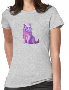 Skull Kitten Womens Fitted T-Shirt