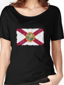Florida Flag - Vintage Look Women's Relaxed Fit T-Shirt