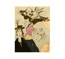 Halloween is not only for kids........ Art Print