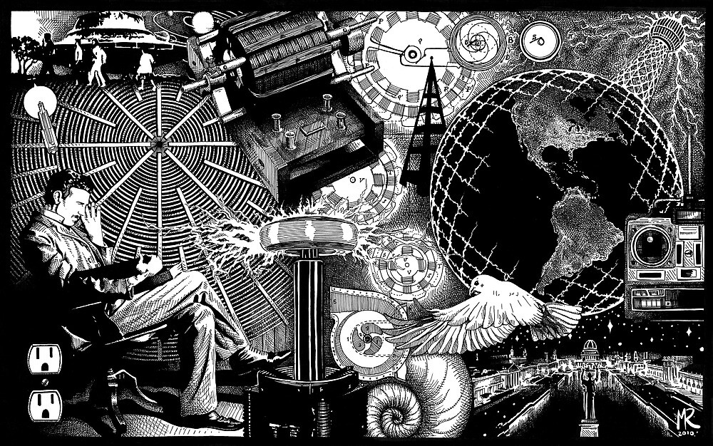 Tesla by Matt Ridgway