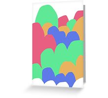 Pastel Clouds #2 Greeting Card