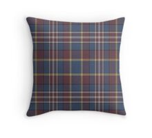 02809 Weber County, Utah Tartan Throw Pillow