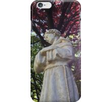 Francis Among the Trees iPhone Case/Skin