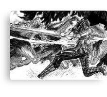 Berserk- Guts The Slayer Canvas Print