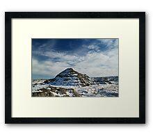 Dinosaur Provincial Park Framed Print