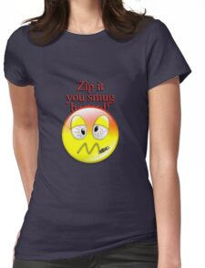 Zip it Womens Fitted T-Shirt