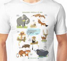 Endangered Mammals of India Unisex T-Shirt