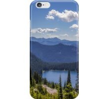 Dewey Lake Mt Rainier National Park iPhone Case/Skin