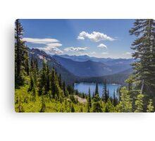 Dewey Lake Mt Rainier National Park Metal Print