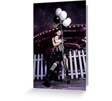 Dark Carnival Greeting Card