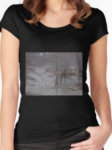 Fog On The Bayou Women's Fitted Scoop T-Shirt