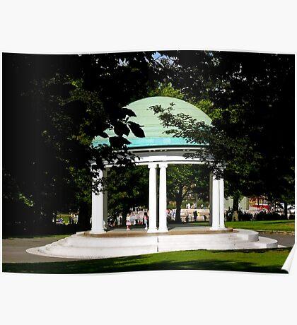 Clifton Park bandstand Poster