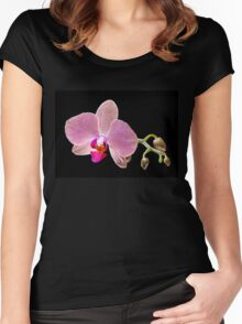 Orchid - 42 Women's Fitted Scoop T-Shirt