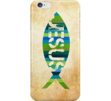 Jesus. Fish. iPhone Case/Skin
