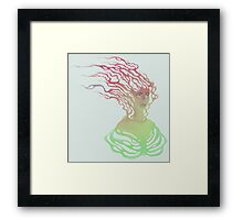 Mind and Body Framed Print