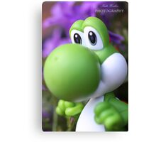 Peaceful Yoshi  Canvas Print