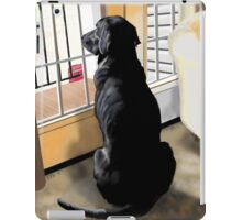 Ajax Watches the World Go By iPad Case/Skin